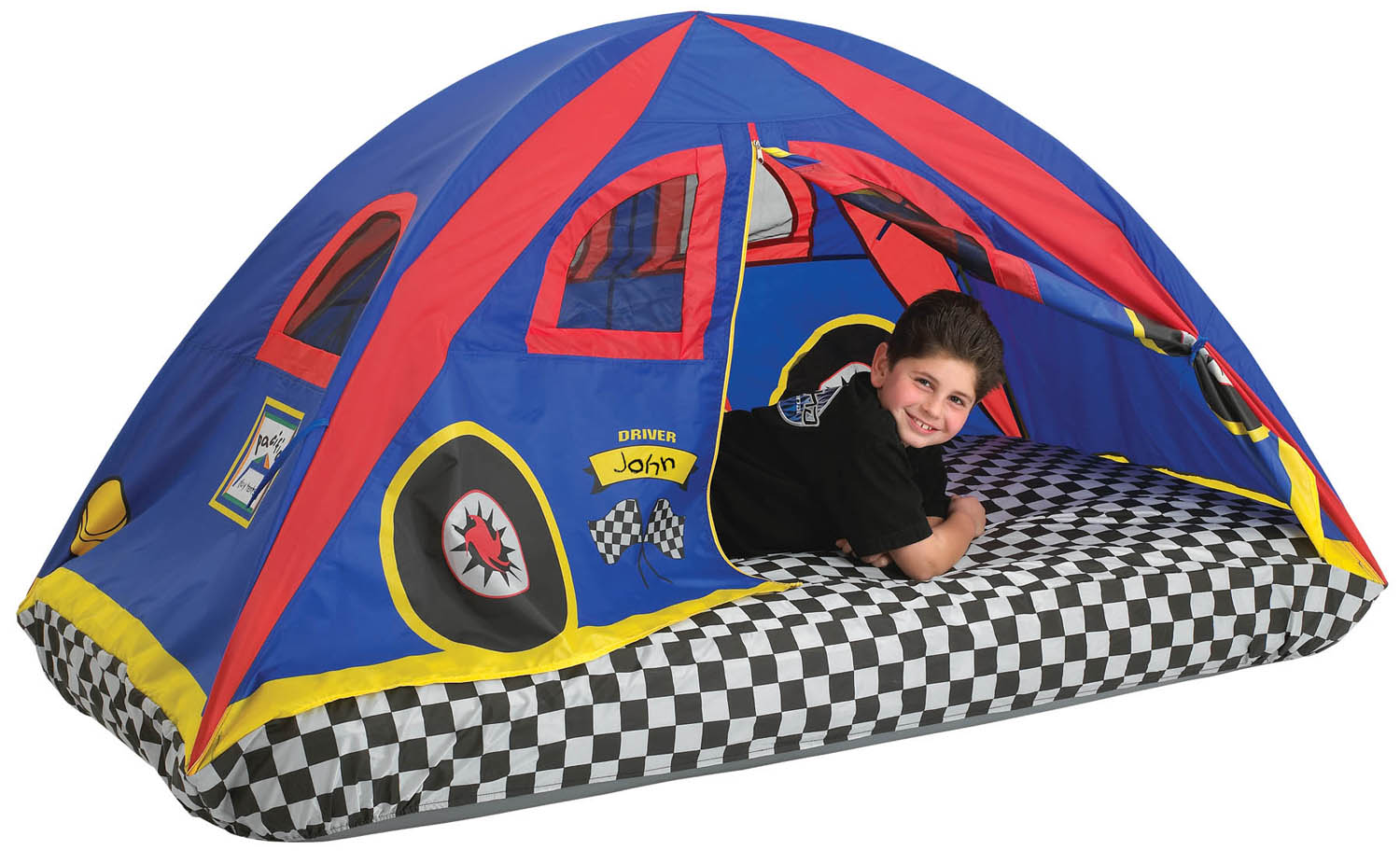 Pacific Play Tents Red Racer Bed Play Tent  sc 1 st  Play Tents and Tunnels Kids Bed Tents Play Houses Play ... & Red Racer Bed Play Tent | OutdoorFuntime.net